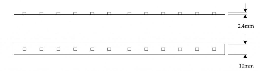 Visio-Dropper tape spec sheet.vsd