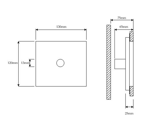 Visio-Beret (round) technical image.vsd